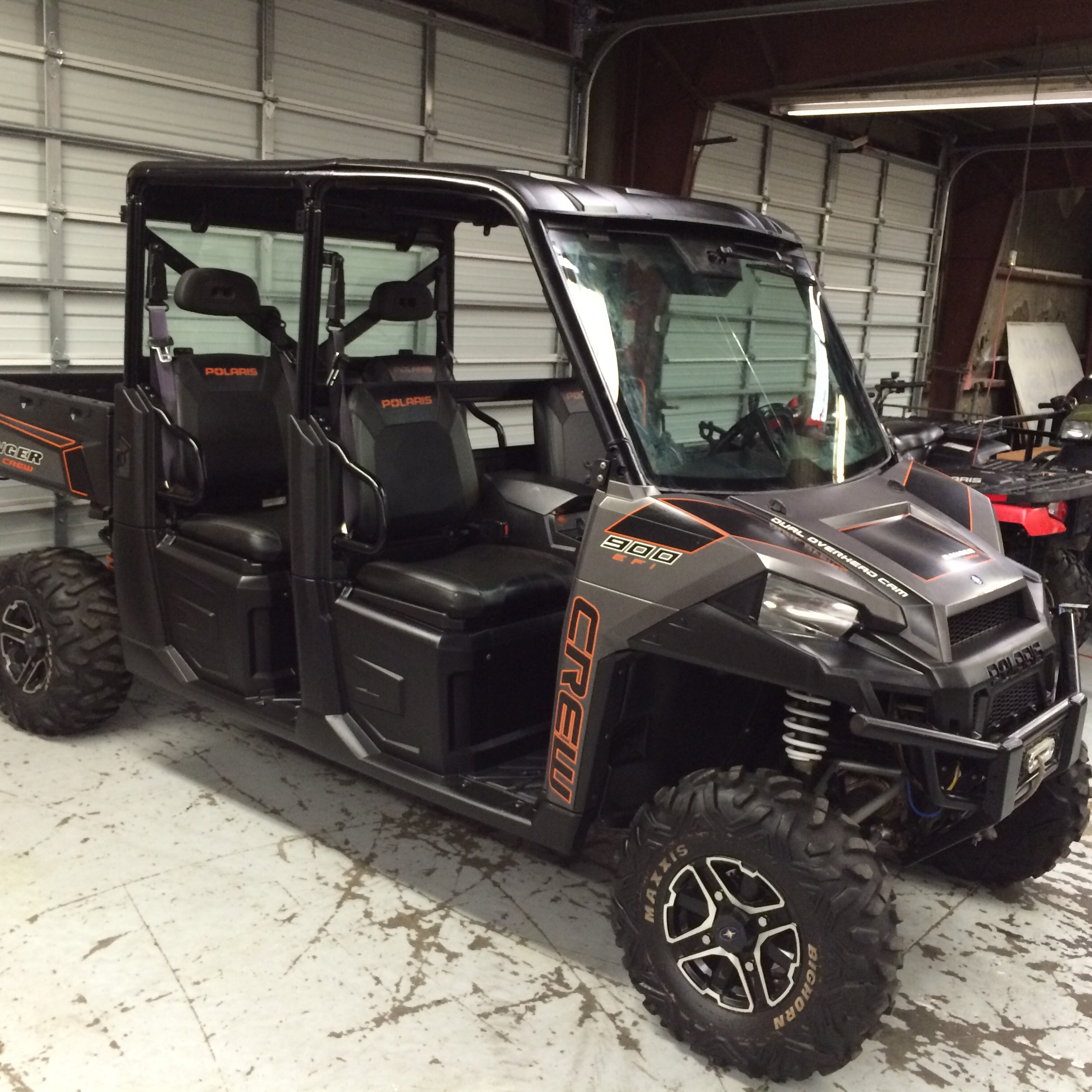 SOLD 2014 Polaris Ranger Crew 900 limited edition, power