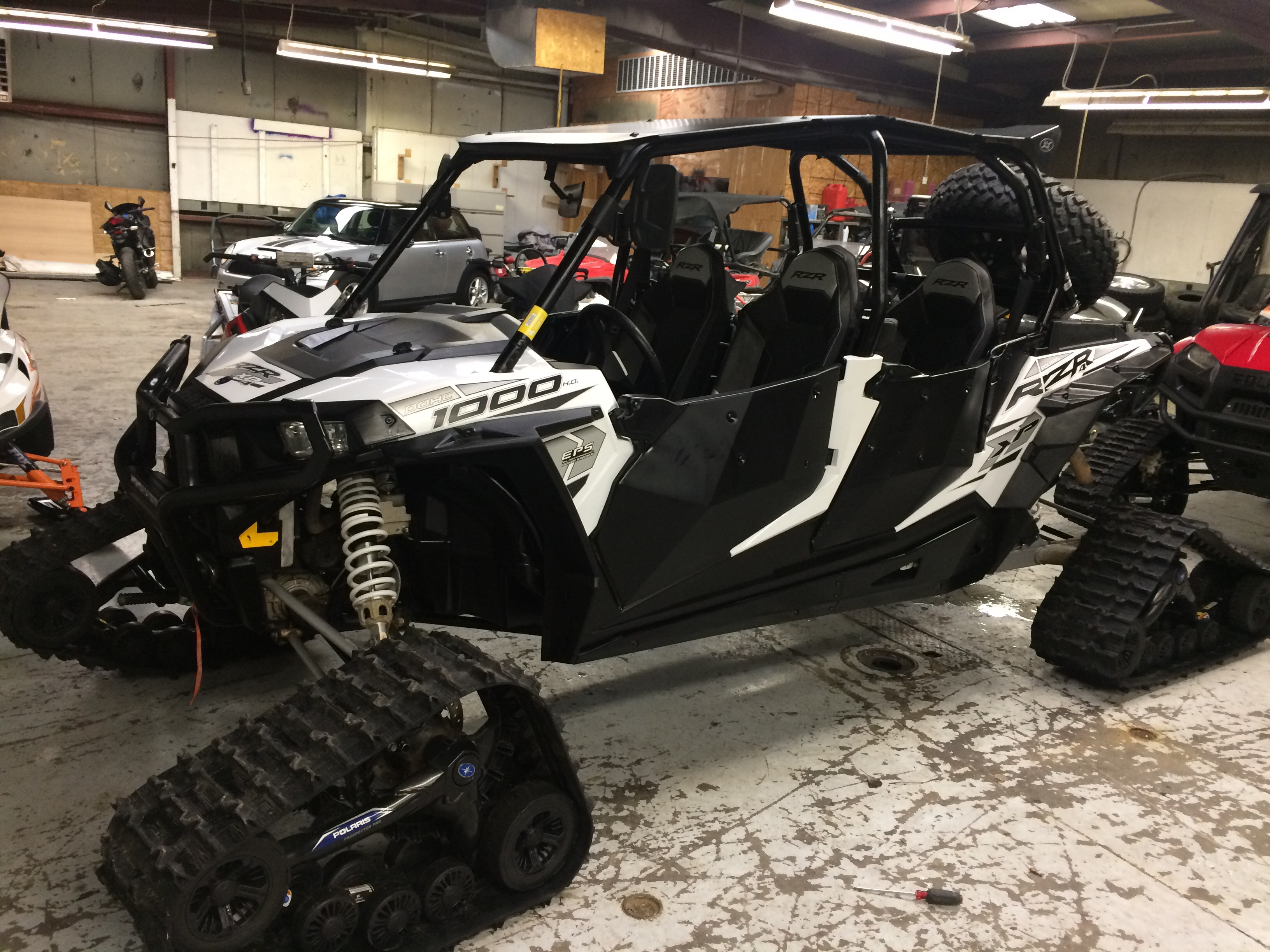 2015 Polaris Rzr 1000 XP With Tracks 2500 miles loaded  $21,000