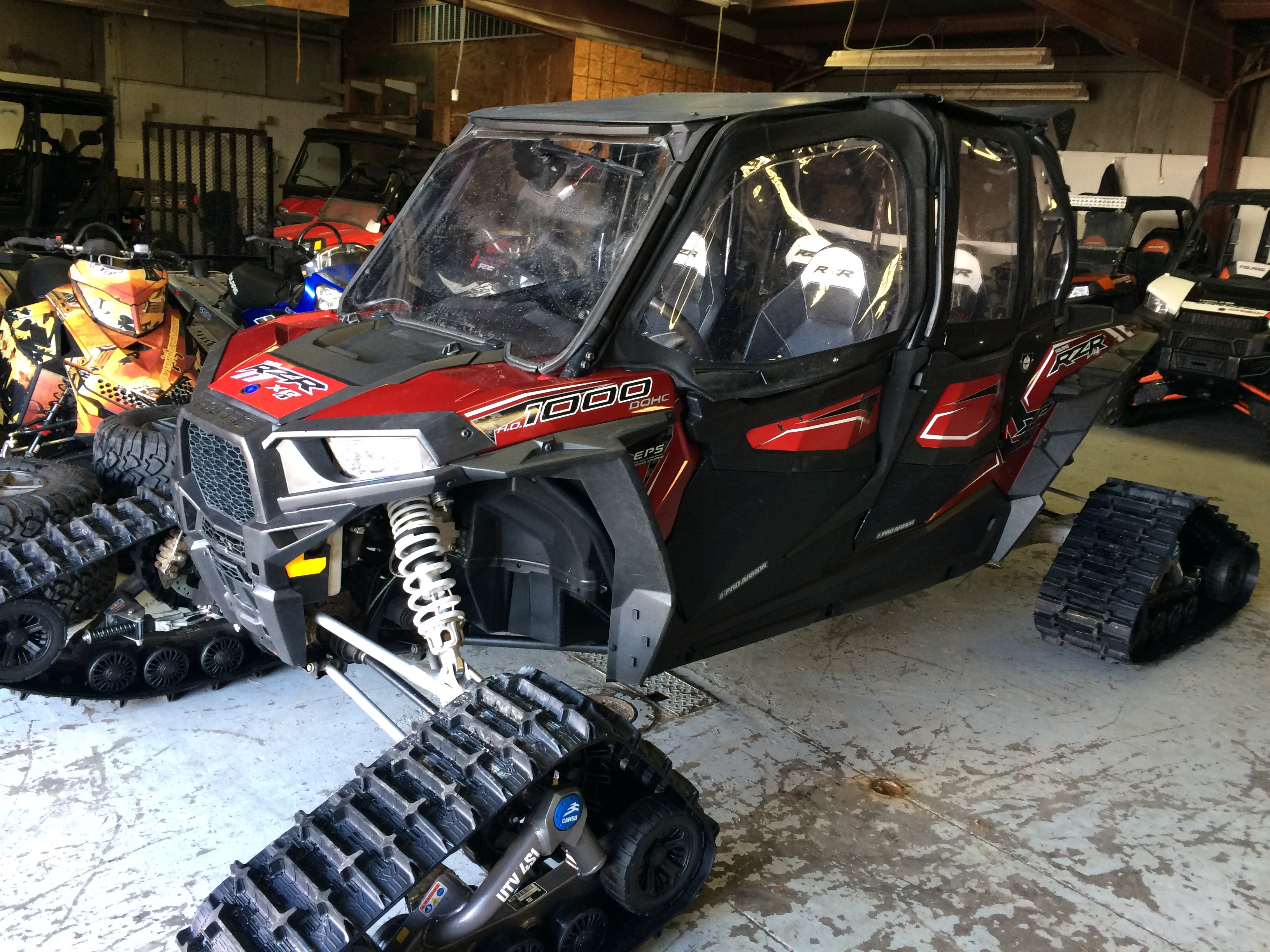 2016 Polaris Rzr 1000 Xp 4 Seater With Tracks 20 600 Sold All Terrain Sports Bountiful Utah